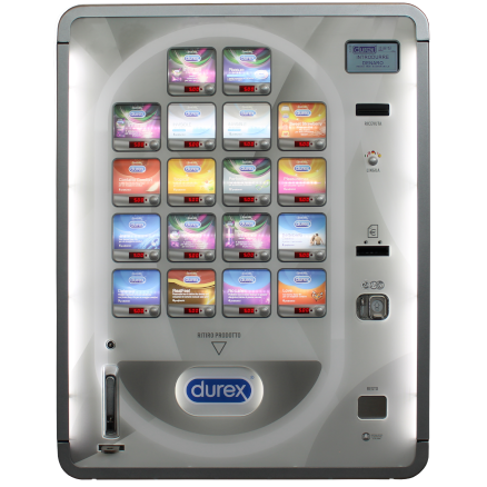 distributore durex dp18 18 canali multiprodotto