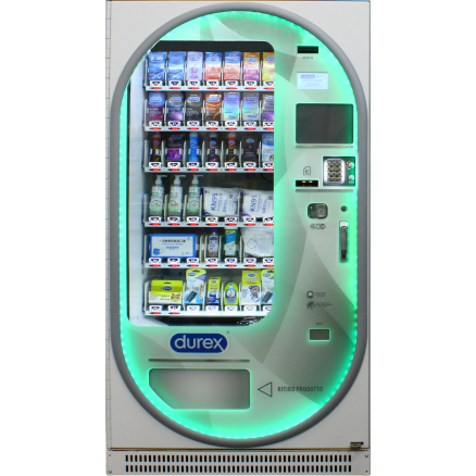 distributore durex dp40 40 canali multiprodotto refrigerato