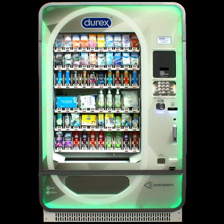 distributore durex dp60 60 canali multiprodotto refrigerato